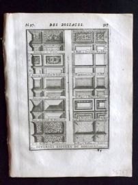 Vignola 1720 Architectural Print. Bossage Decoration 77